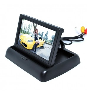 4.3 inch Color LCD Car Video Foldable Monitor Camera