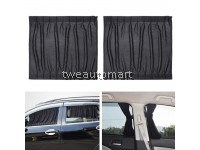 2pcs Auto Side Window Protector UV Protection Curtain Car Slidable Window Shield